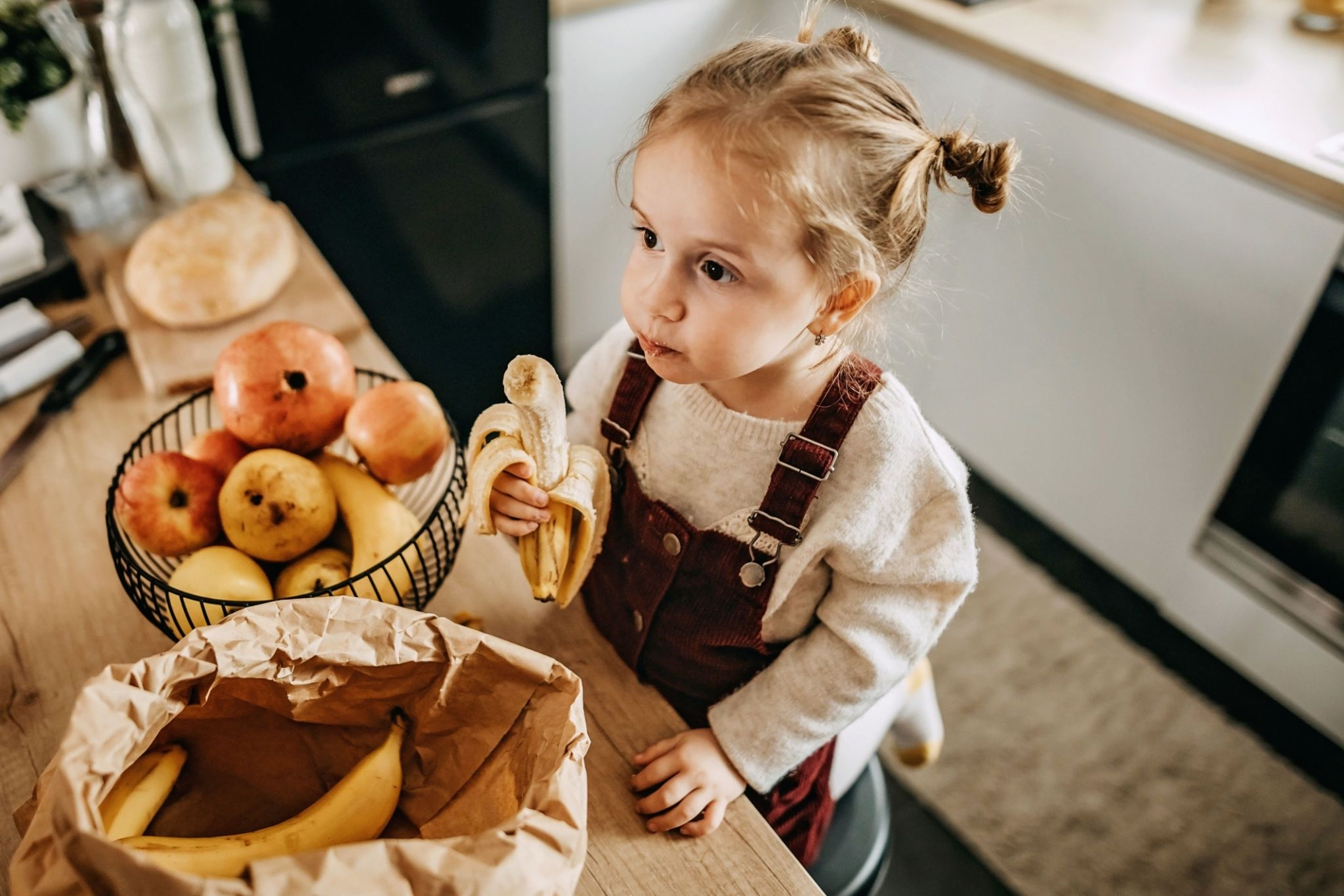 can a toddler eat too many bananas